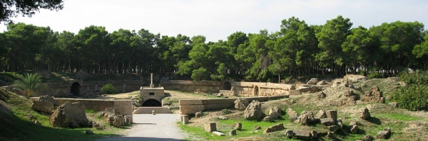 The Amphitheatre in Carthage (J Nealy, CC BY-SA 2.5)